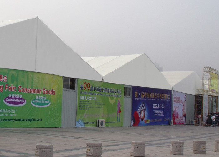 Custom Size Trade Show Tents Temporary Removable Aluminum Frame Structure